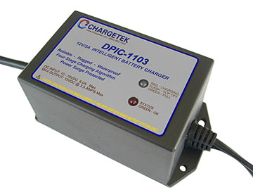 Dpic Dc Input Battery Chargers Chargetek Com